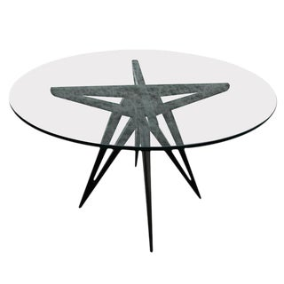 "Adesso Imports ""Star"" Dining Table for Four For Sale"