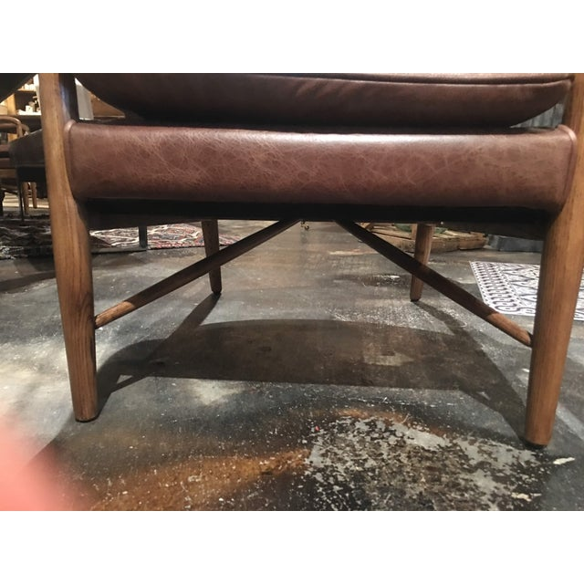 Brown Kiannah Club Chair For Sale - Image 8 of 10