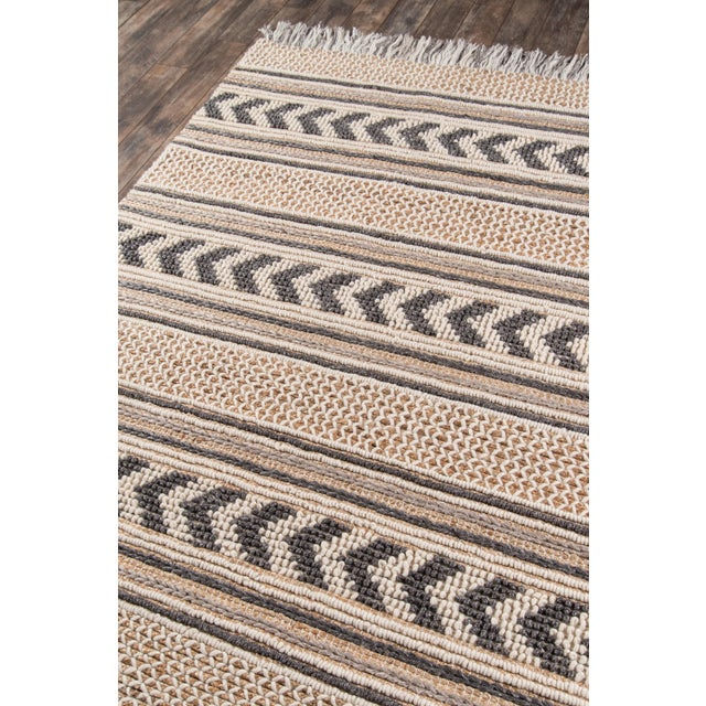 Transitional Esme Charcoal Hand Woven Area Rug 2' X 3' For Sale - Image 3 of 8