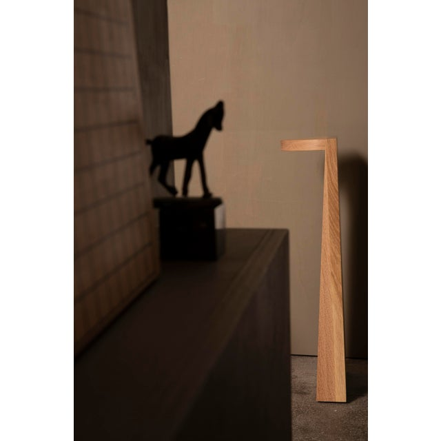 Campagna |) Set Table in White Oak For Sale In New York - Image 6 of 7