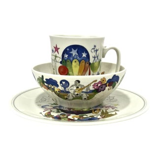 "Villeroy & Boch ""Le Ballon"" Breakfast Set, 3pcs. For Sale"