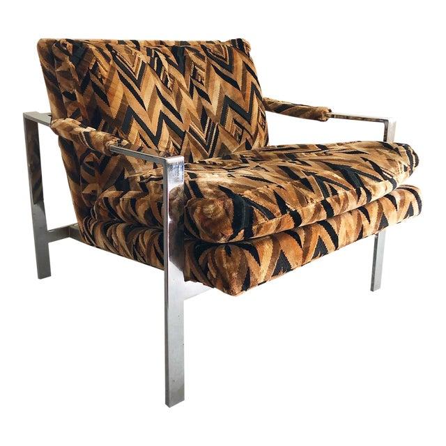 Mid Century Modern Milo Baughman Lounge Chair For Sale