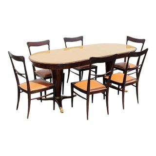 Paolo Buffa Dining Room - Set of 7 For Sale