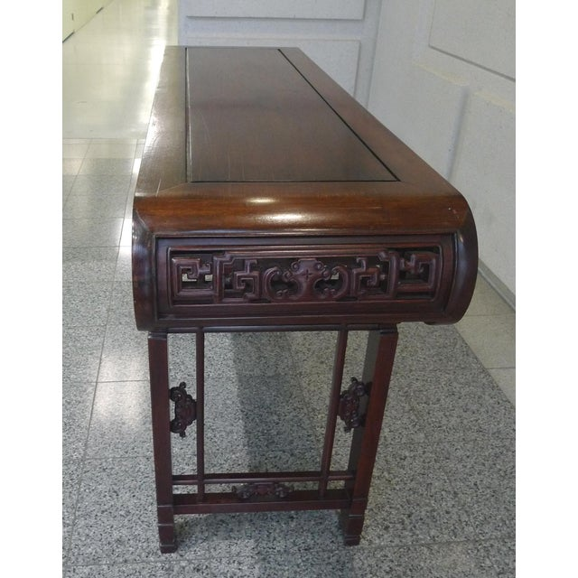 20th Century Elmwood Asian Altar Table For Sale In New York - Image 6 of 8