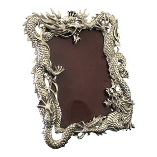 Arthur Court Dragon Picture Frame, Signed For Sale
