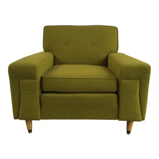 Mid-Century Kroehler Green Club Chair