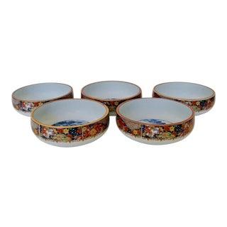 Japanese Imari Bowls -Set of 5 For Sale