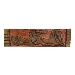 Mid Century Modern Witco Horse Relief Wall Art For Sale