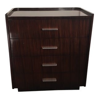 Ralph Lauren Modern Metropolis Bedside Chest For Sale