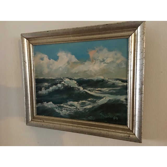Original Seascape Oil Painting - Image 4 of 6