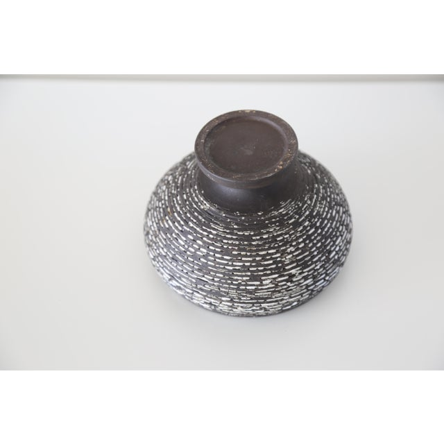 Mid 20th Century French Mid-Century Stoneware Vase Urn For Sale - Image 5 of 6