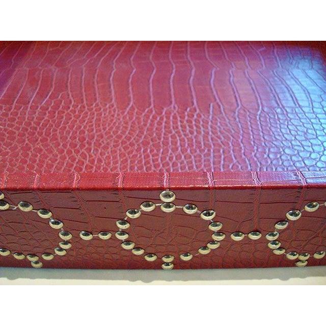 Medium size Studded Croc Tray - Image 5 of 5
