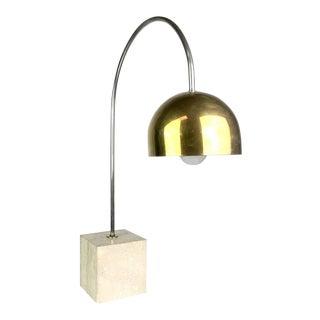 Italian Mid-Century Modern Arc Table Lamp by Guzzini For Sale
