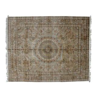 Leon Banilivi Pure Silk Tabriz Carpet - 8' x 10'