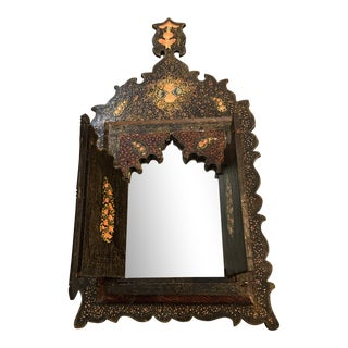Asian Wall Hanging Mirror For Sale