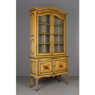 French Louis XV Style Vitrine or Bookcase Preview
