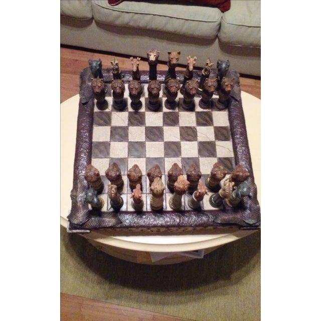 Safari Chess Set - Image 2 of 6