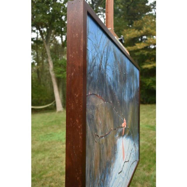 "Stephen Remick ""You are Here"" Landscape Painting For Sale - Image 4 of 11"
