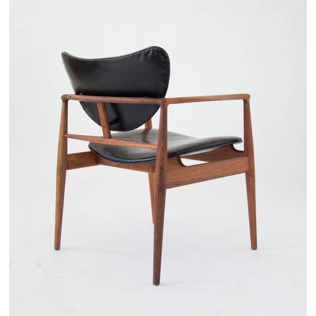Finn Juhl for Baker Furniture Model 48 Chair For Sale - Image 5 of 9