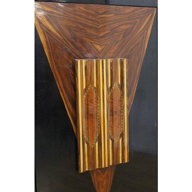 Art Deco Revolving Bar Cabinet For Sale - Image 4 of 5
