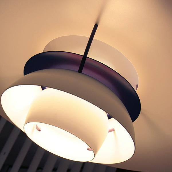 Poul Henningsen for Louis Poulsen Ph 5 Hanging Pendant For Sale In San Diego - Image 6 of 8