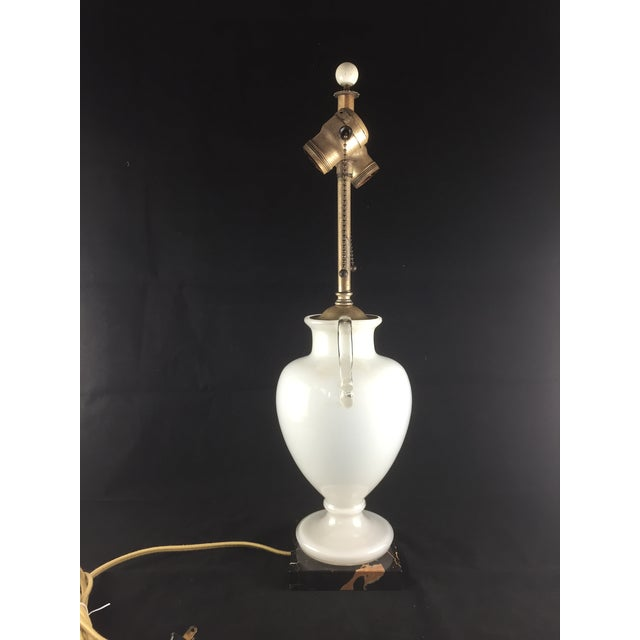 Bohemian Kralik Amphora Urn Table Lamp - Image 5 of 11