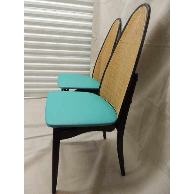 Stakmore Mid-Century Folding Chairs - A Pair - Image 5 of 8