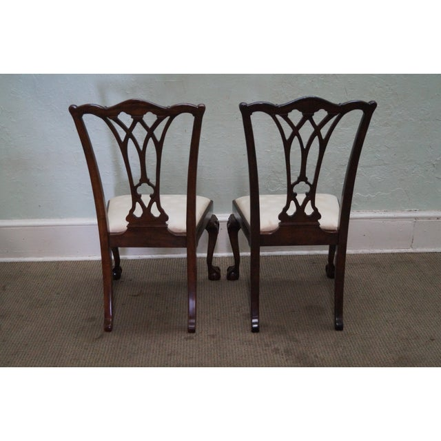 Drexel Chippendale Mahogany Dining Chairs - Set of - Image 3 of 10