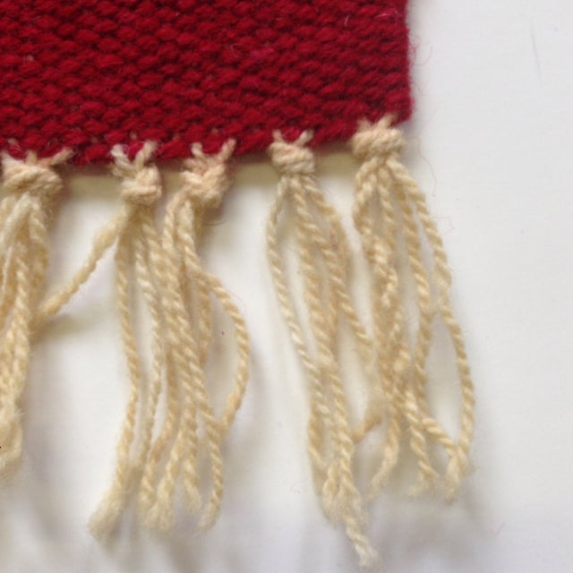 Handwoven Navajo Style Wall Hanging Rug - Image 11 of 11