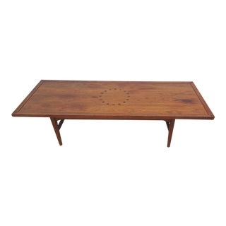 Kipp Stewart & Stewart MacDougall for Drexel Walnut Coffee Table