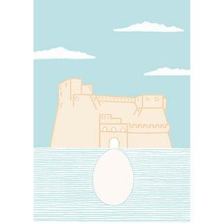 Castel Dell'Ovo Print For Sale