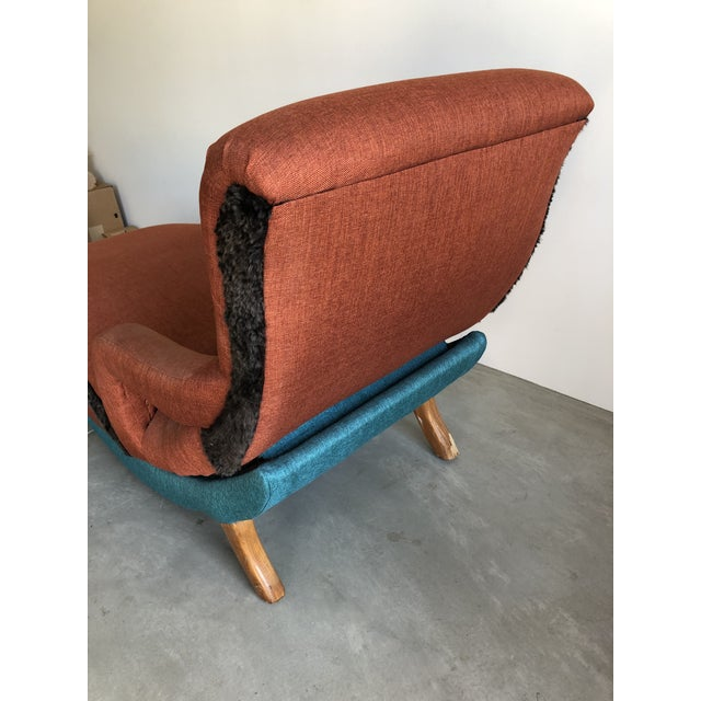 Mid-Century Modern 1950's Contour Recliner Lounge Chair For Sale - Image 3 of 8