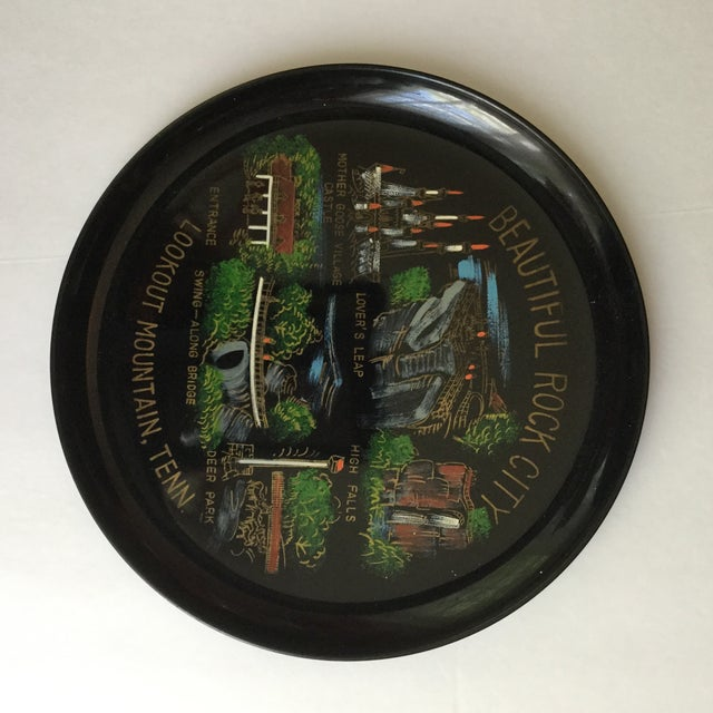 Tennessee Mid-Century Souvenir Trays - A Pair For Sale - Image 9 of 11
