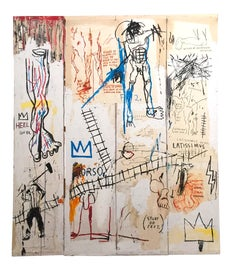 Image of Jean Michel Basquiat Original Prints