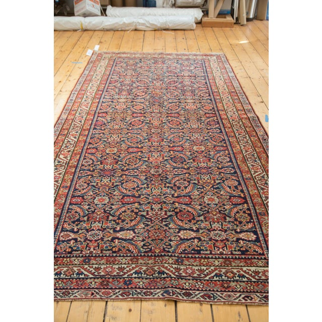 "Antique Malayer Rug Runner - 5'2"" X 9'9"" - Image 10 of 10"