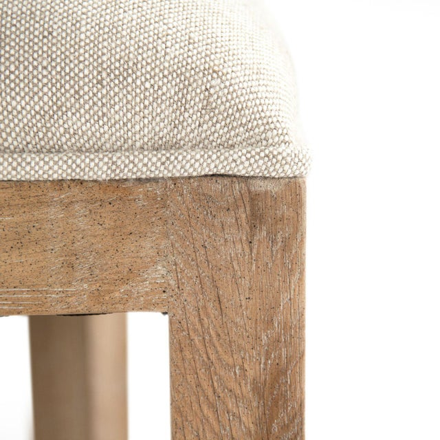 Selborne Bar Stool in Cream For Sale - Image 4 of 6