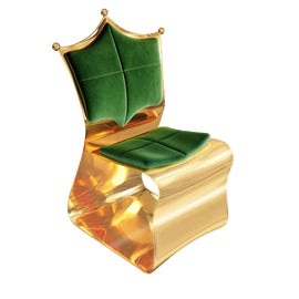 Image of Green Corner Chairs
