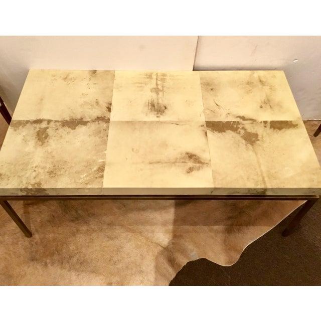 Modern Modern Interlude Home Hampton Brass Coffee Table For Sale - Image 3 of 7