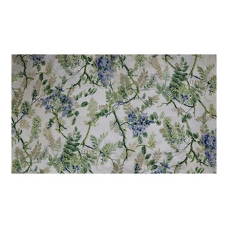 Schumacher Greeff Fabric Wisteria Vine in Periwinkle Blue Color - 6 Yards For Sale