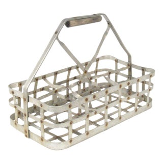 Vintage Bottle Carrier Caddy For Sale