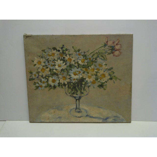 "This is an original signed painting on xanvas that is titled ""Bouquet of Flowers"" painted by Frederick McDuff. Frederick..."