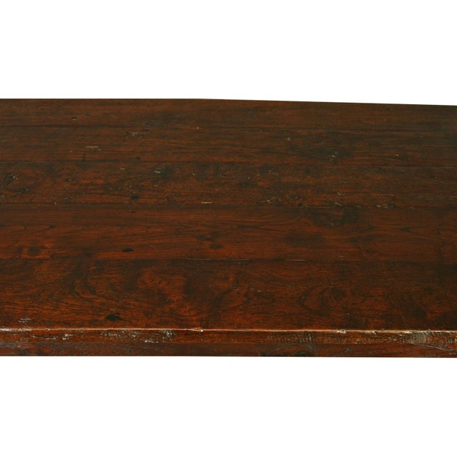 French Country Plank-Top Dining Table - Image 5 of 8