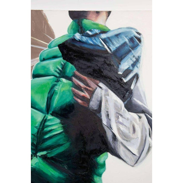 """2000s Urban Painting by Stuart Bush """"Untitled 3"""" For Sale - Image 5 of 8"""