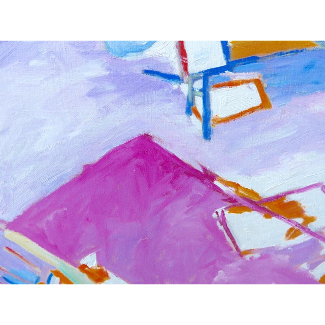 Boho Chic The Artist's Studio (Oil Painting) For Sale - Image 3 of 9