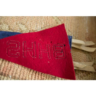 Vintage Bhhs Felt Flag Pennant Preview