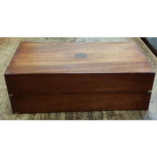19th Century Walnut Traveling Lap Writing Desk Box Preview