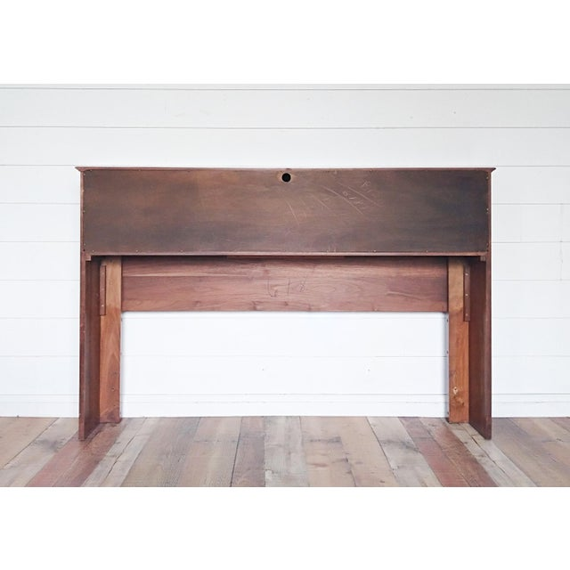 A gorgeous piece made by Bissman Furniture Company of Springfield, MO. Carl Bissman (b. 1893-1951) was an architect who...