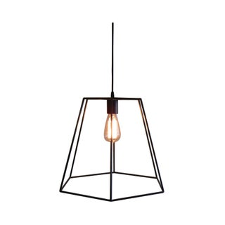 Bronze and Steel Archimedean Pendant Light
