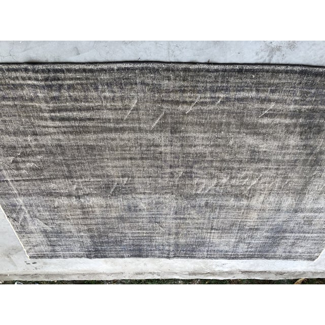 Textile Vintage Anatolian Distressed Rug For Sale - Image 7 of 10