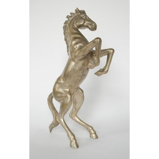 1900's French metal sculpture of the horse - Image 3 of 3